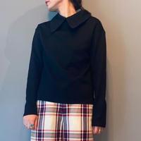 race collar  pullover(black)