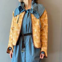 jacquard jacket(yellow)