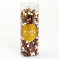 〈チョコレートクランチ〉ダーク&ミルク&キャラメル&ホワイト