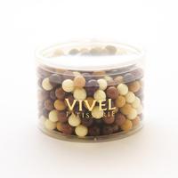 〈チョコレートクランチ〉ダーク&ミルク&キャラメル&ホワイト~ミニサイズ~