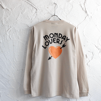 "LINX|LINX × HAND SIGN PAINTERS ""Welcome to MONDAY LOVERS"" L/S TEE