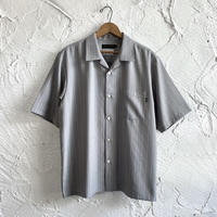 LINX|LINX x STASH S/S OPEN SHIRT / GREY