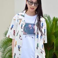 "TAB UNDERWEAR|Open Collar Shirt ""LAS CUBANAS"""