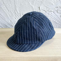 HIGHER|INDIGO STRIPE POSTMAN|COLOR-A