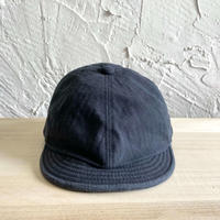 HIGHER|HERRINGBONE POSTMAN CAP|COLOR-NAVY