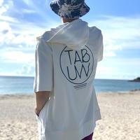 TAB UNDERWEAR|S/S Zip Hoodie(Big Silhouette)