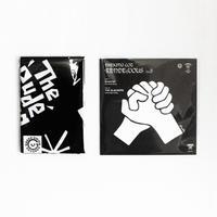 "GREEN UNION RECORDS|Soulcrap × THE SLACKERS 7inch RECORD ""Kads MIIDA""手拭いSET"