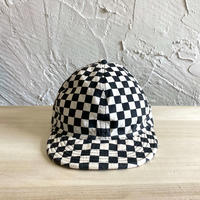 HIGHER|CHECKERED FLAG 6PANEL CAP