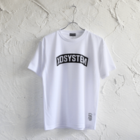 XOSYSTEM|XO ARCH LOGO DRY TEE |WHITE