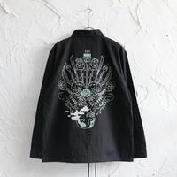 XOSYSTEM|XQ YAKAJI COACH JACKET |BLACK
