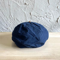 HIGHER|WEATHER  BERET|COLOR-NAVY