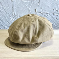 HIGHER|BAKER BACKSATIN  CASQUETTE|COLOR-BEIGE