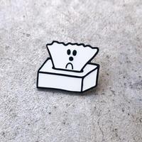 Ken Kagami - TISSUE PAPER Metal Pin