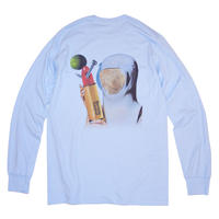 TONDABAYASHI RAN 'REGULAR SIZE' Long Sleeve Tee - Light Blue