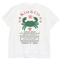 Kim Songhe '蟹T' (LUCKY CRAB T-SHIRTS) - White