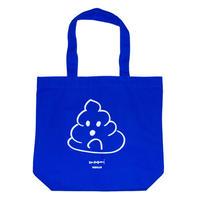 Ken Kagami 'POOP' Tote Bag - Blue