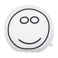 MASANAO HIRAYAMA - SMILE CUSSION / White
