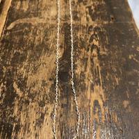 ラブラドライト ストーン チェーン 925シルバー 40cm
