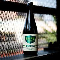 Virginia Beer Waypost Apple Brandy Barrel