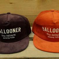 BALLOONER MOUNTAINE CORDUROY CAP