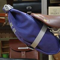 TIM TAS + REK / small saddle bag Blue