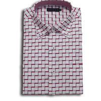 VUMPS ストレッチドビーチェックBDシャツ