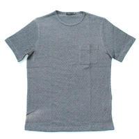 VUMPS ニットサッカーストレッチTシャツ