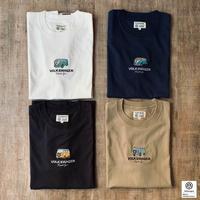 オーガニックコットンT1&T2刺繍Tシャツ