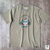 オーガニックコットンアーリーバスキャンプTシャツ