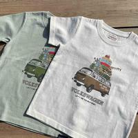 KIDS オーガニックコットンT2キャンプTシャツ