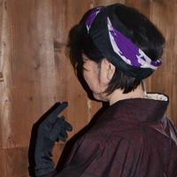 ターバン☆紫