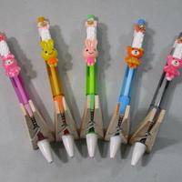 うさデコ&くまデコホイップシャープペン お花豪華版 5本セット