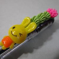 うさデコ抹茶ホイップ イエロー/ピンク キャップ式