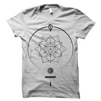 【完全受注生産・コラボステッカー付き】WAGAMAMA RAKIA×NEVE SLIDE DOWNコラボ T-Shirts (ホワイト)