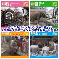 CD&DVD-ポカスカジャン・カレンダー「春夏秋冬」4枚set特典付き!(送料込み)