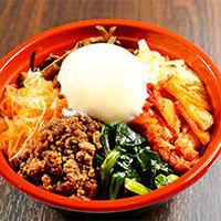牛タン挽肉入りビビンバ丼(米艶温玉付き)