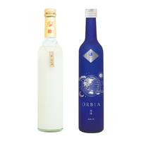 【特別2本セット】三軒茶屋醸造所のどぶろく & ワイン樽熟成日本酒 ORBIA~GAIA~ 500ml×2本