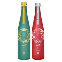 茶が彩るボタニカルSAKE「FONIA tea」 2本セット<ORIENTAL & CHAI>500ml×2本