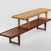 Krobo bench (Oak  120x33)