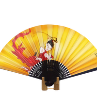 "天野喜孝オリジナルキャラクター「シャウラ(SHAULA)」飾り扇子 Yoshitaka Amano Original character ""SHAULA"" decorative folding fan"