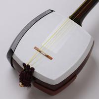 [29095]【津軽】両面 教材用三味線人工皮リプル張り替え