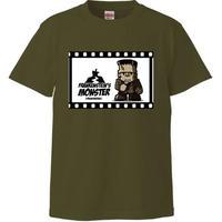[Tシャツ] フランケンシュタインの怪物 (ハピモン)