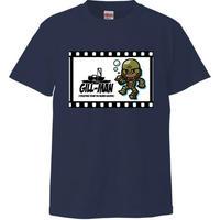 [Tシャツ] 大アマゾンの半魚人 「ギルマン」 (ハピモン)
