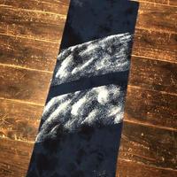 日頃の感謝を込めて『一点物』&藍染め手ぬぐい 「オーロラストライプ」模様 パターン1『一点物』