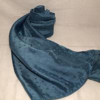 日頃の感謝を込めて大特価!!『一品物』&コロナに負けるな!!藍の生葉染め&本藍染め シルクストール 大判  175×50cm『一品物』