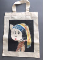 BOOKO THE MUSE TOTE BAG ぶーこミューズエコトートバッグ