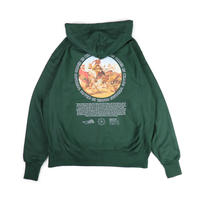 LION HUNT REVERSEWEAVE SWEAT HOODIE