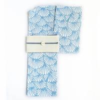オリジナル本染浴衣「菊青海波」