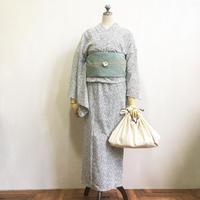 オリジナル浴衣「点」紺