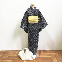 KIDSオリジナル浴衣「波」濃紺